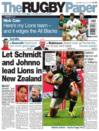 The Rugby Paper 10th July 2016