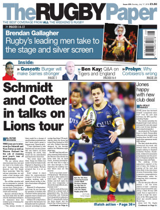 The Rugby Paper 17th July 2016