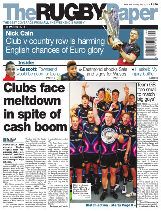 The Rugby Paper 24th July 2016