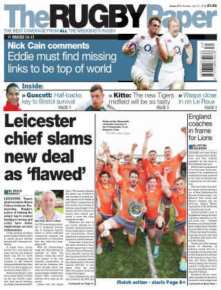 The Rugby Paper 31nd July 2016