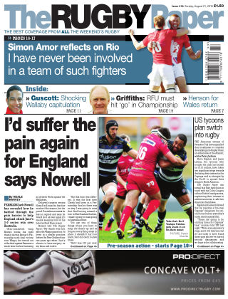 The Rugby Paper 21st August 2016