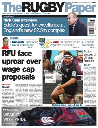 The Rugby Paper 18th September 2016