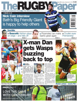 The Rugby Paper 25th September 2016