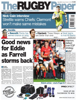 The Rugby Paper 16th October 2016