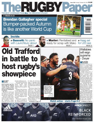 The Rugby Paper 30th October 2016