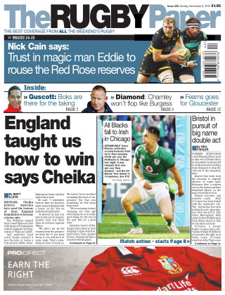 The Rugby Paper 6th November 2016