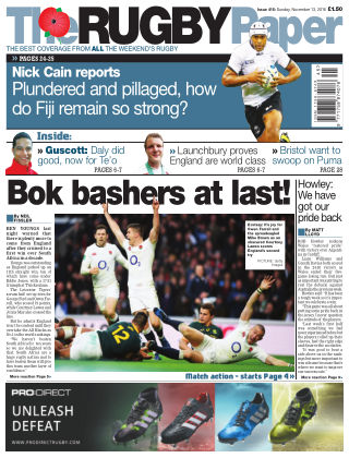 The Rugby Paper 13th November 2016