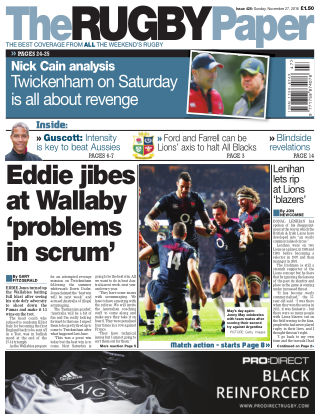 The Rugby Paper 27th November 2016