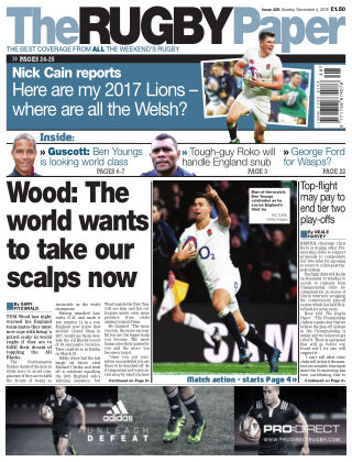 The Rugby Paper 4th December 2016