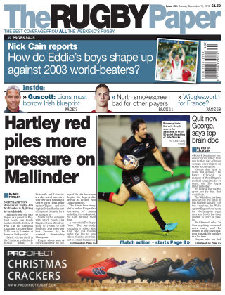 The Rugby Paper 11th December 2016