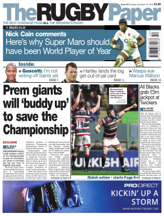 The Rugby Paper 18th December 2016