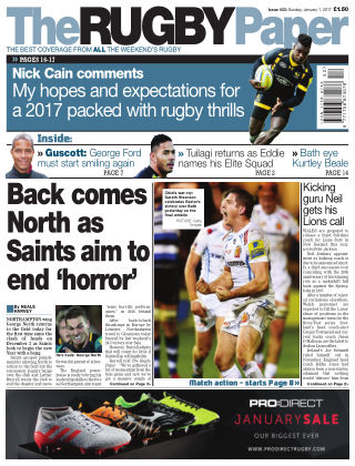The Rugby Paper 1st January 2017