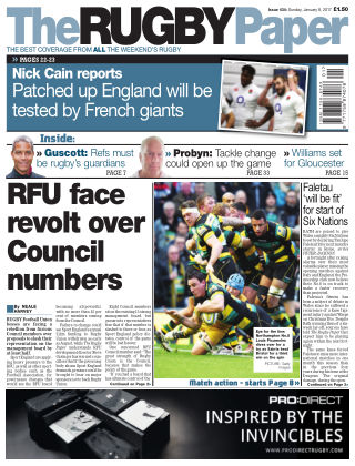 The Rugby Paper 8th January 2017
