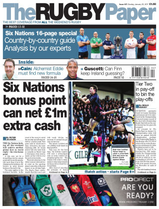 The Rugby Paper 29th January 2017