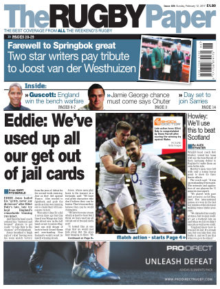 The Rugby Paper 12th February 2017