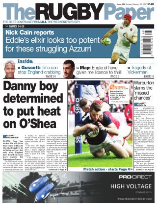 The Rugby Paper 26th February 2017