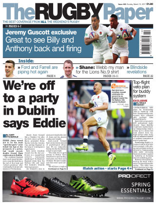 The Rugby Paper 12th March 2017