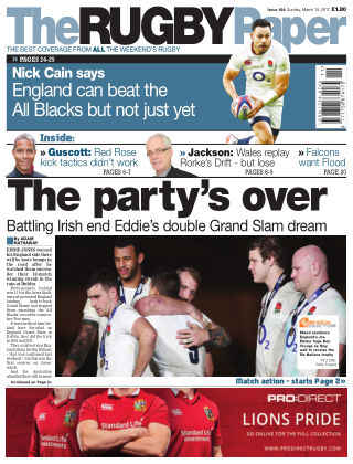 The Rugby Paper 19th March 2017