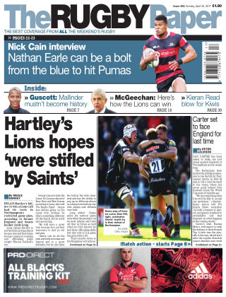 The Rugby Paper 30st April 2017
