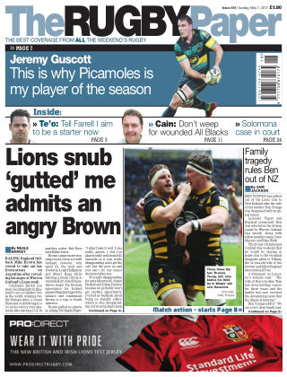 The Rugby Paper 7th May 2017