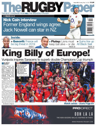The Rugby Paper 14th May 2017