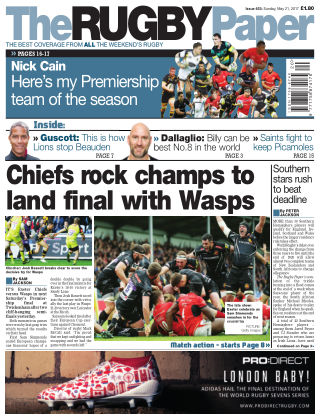 The Rugby Paper 21st May 2017