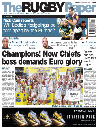 The Rugby Paper 28th May 2017