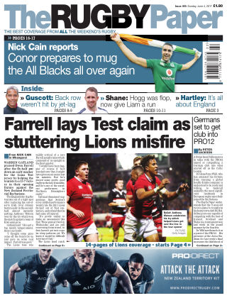 The Rugby Paper 4th June 2017