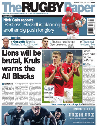 The Rugby Paper 11th June 2017