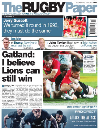 The Rugby Paper 25th June 2017