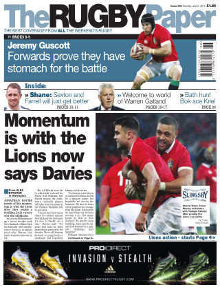 The Rugby Paper 2nd July 2017