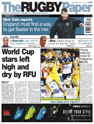 The Rugby Paper 23rd July 2017