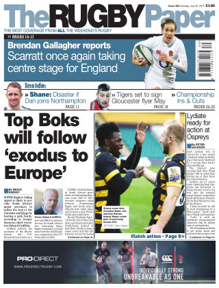 The Rugby Paper 30st July 2017