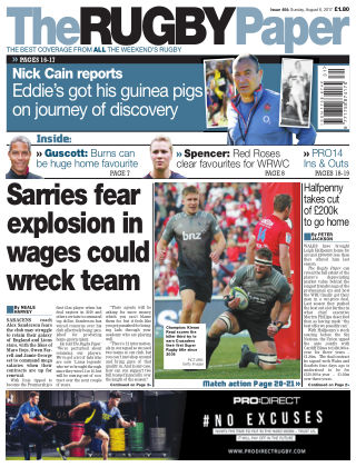 The Rugby Paper 6th August 2017