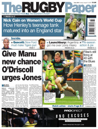 The Rugby Paper 13th August 2017