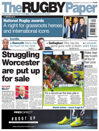 The Rugby Paper 3rd September 2017
