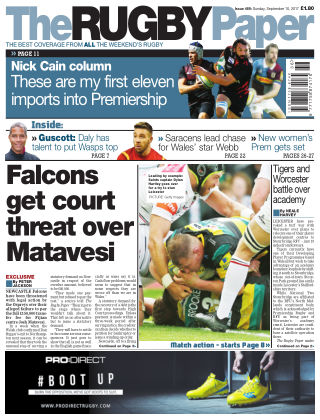 The Rugby Paper 10th September 2017