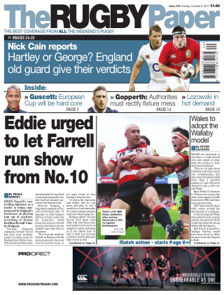 The Rugby Paper 8th October 2017