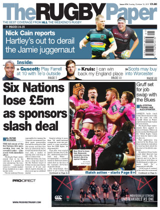 The Rugby Paper 15th October 2017