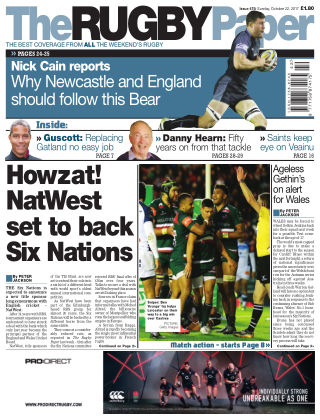 The Rugby Paper 22nd October 2017