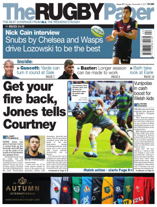 The Rugby Paper 5th November 2017