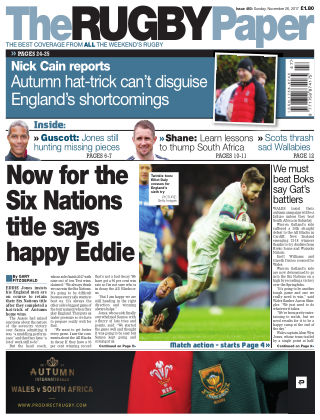 The Rugby Paper 26th November 2017
