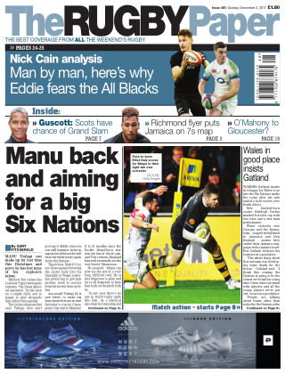 The Rugby Paper 3rd December 2017