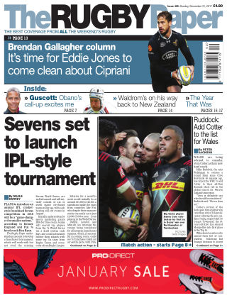 The Rugby Paper 31st December 2017