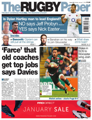 The Rugby Paper 7th January 2018