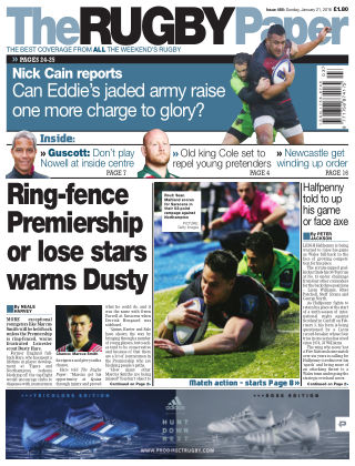 The Rugby Paper 21st January 2018