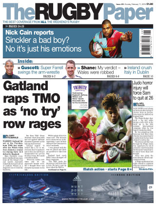 The Rugby Paper 11th February 2018