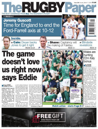 The Rugby Paper 11th March 2018