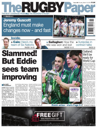 The Rugby Paper 18th March 2018