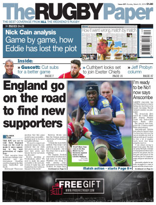 The Rugby Paper 25th March 2018